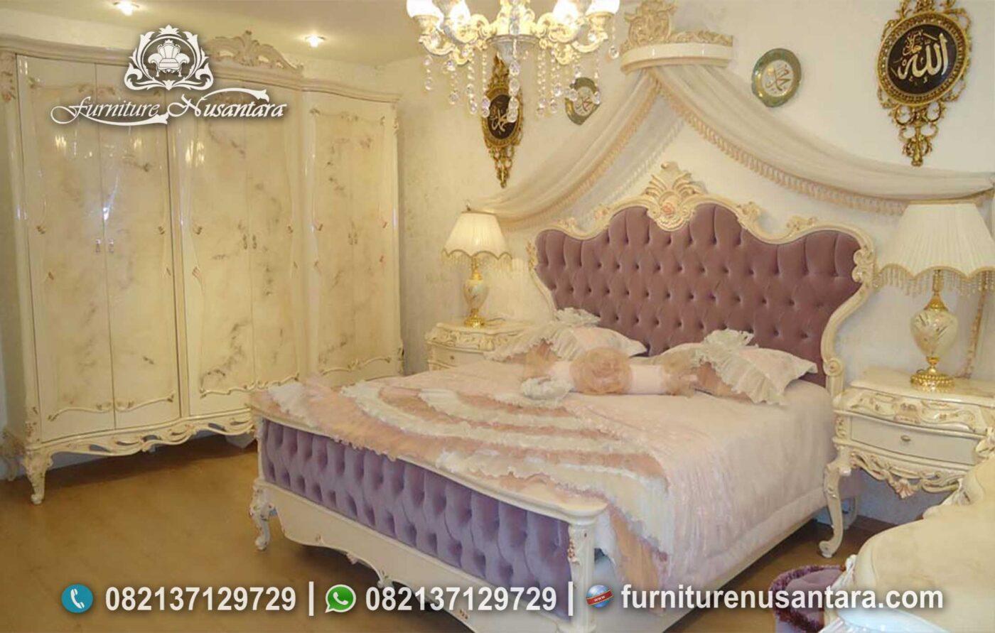 Set Kamar Tidur Klasik Putri Raja KS-170, Furniture Nusantara