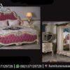 Desain Kamar Warna Gold Dan Pink KS-195, Furniture Nusantara