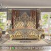 Tempat Tidur Ukir Jepara Terbaik KS-197, Furniture Nusantara