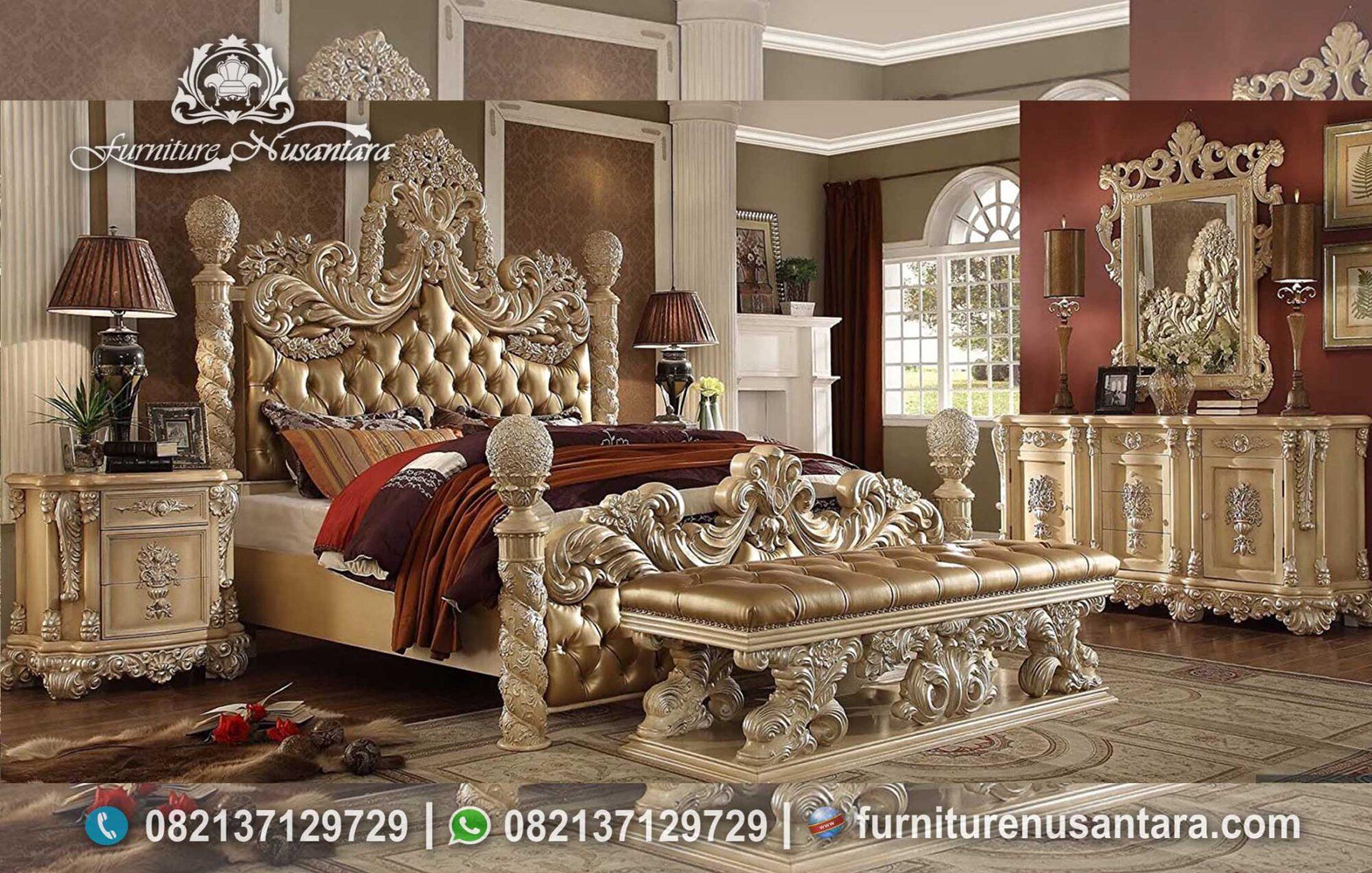 Model Kamar Set Klasik Modern Termewah KS-200, Furniture Nusantara