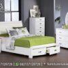 Desain Tempat Tidur Minimalis Modern Terbaru KS-203, Furniture Nusantara