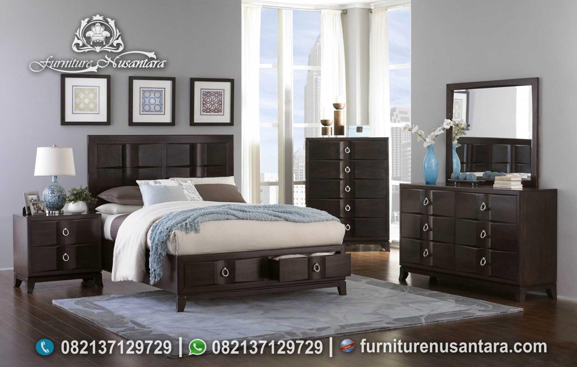 Inspirasi Model Kamar Tidur Minimalis Terbaru KS-207, Furniture Nusantara