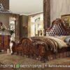 Jual Set Tempat Tidur Klasik Natural KS-213, Furniture Nusantara