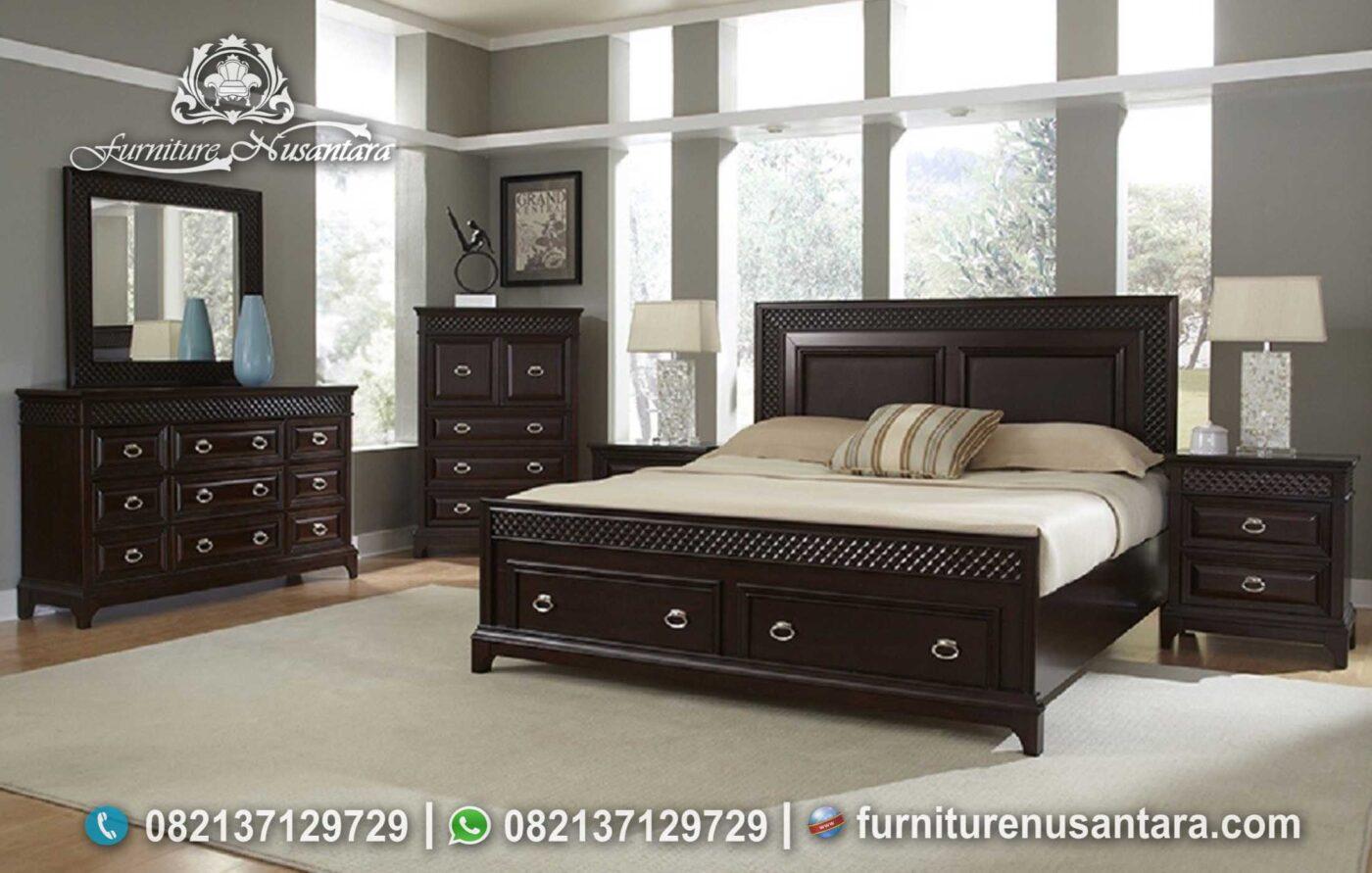 Desain Terbaru Kamar Minimalis Berkelas KS-214, Furniture Nusantara