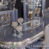 Desain Meja Makan Klasik Modern Abu Abu MM-21, Furniture Nusantara