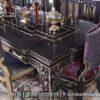 Meja Makan Warna Ungu Klasik Luxury MM-23, Furniture Nusantara