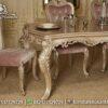Inspirasi Meja Makan Ukir Warna Soft MM-24, Furniture Nusantara
