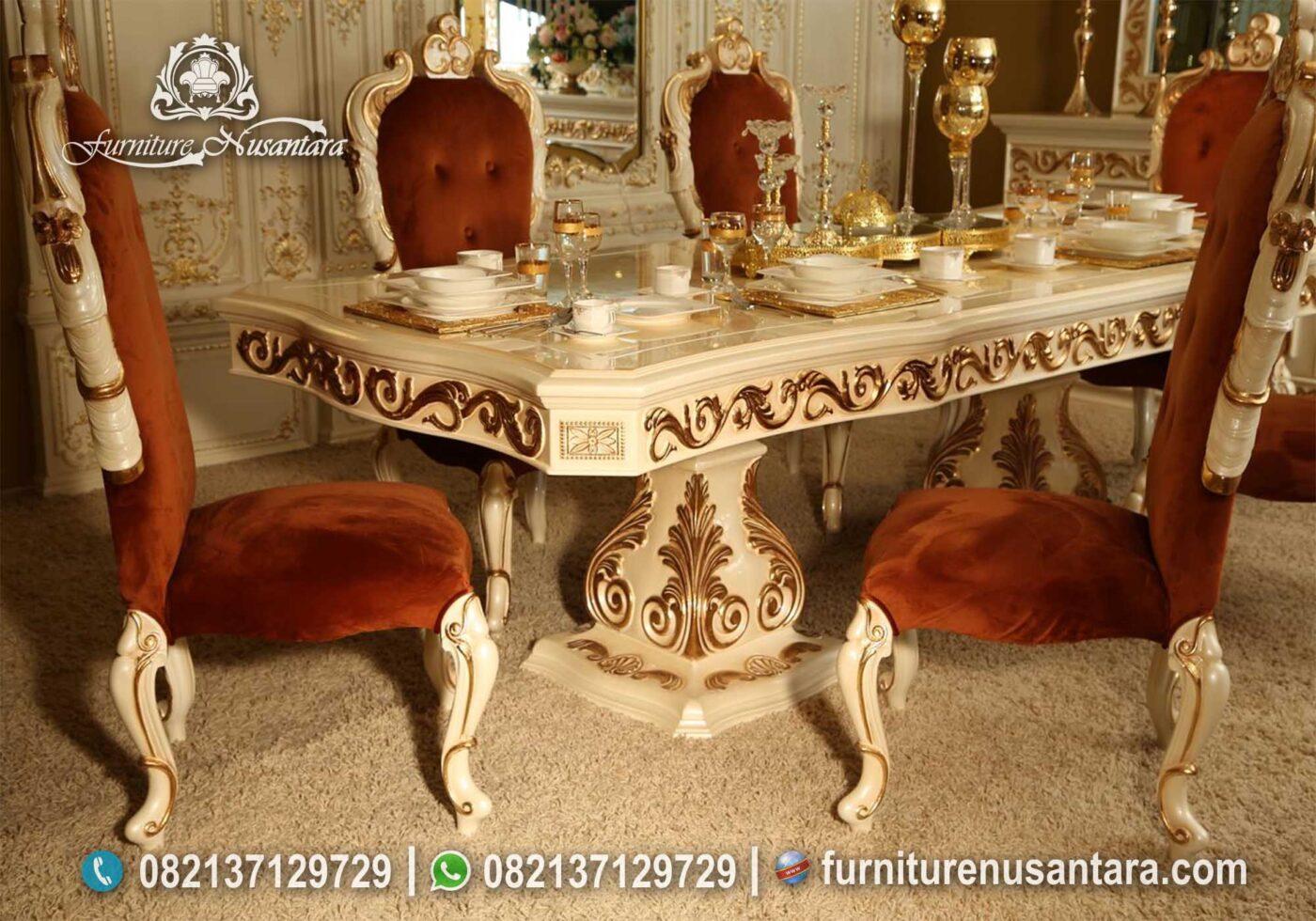 Harga Meja Makan Kualitas Terbaik MM-02, Furniture Nusantara
