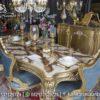 Jual Set Meja Makan Gold Timur Tengah MM-27, Furniture Nusantara