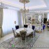 Meja Makan Klasik Bulat Warna Putih MM-08, Furniture Nusantara