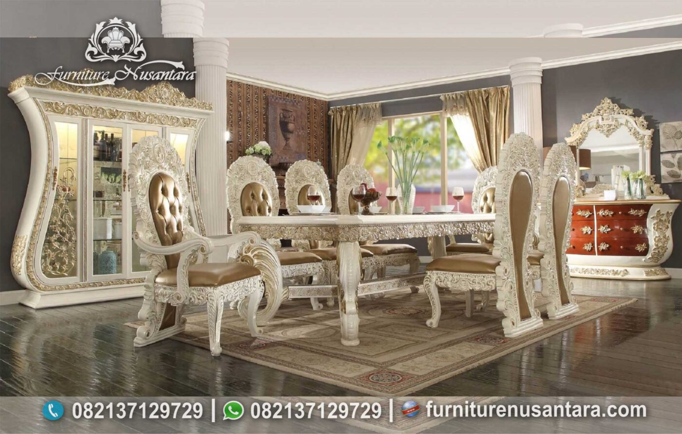 Jual Meja Makan Luxury Berkwalitas Tinggi MM-04, Furniture Nusantara