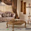 Sofa Ukir Jati Natural Modern ST-42, Furniture Nusantara