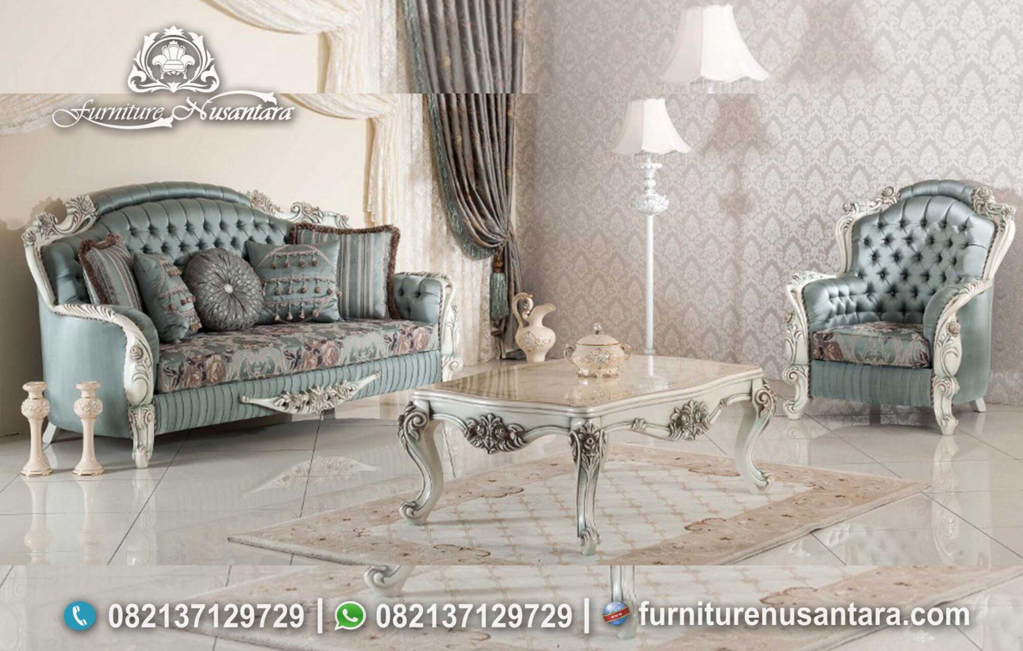 Desain Sofa Terbaru Ruang Tamu ST-52, Furniture Nusantara