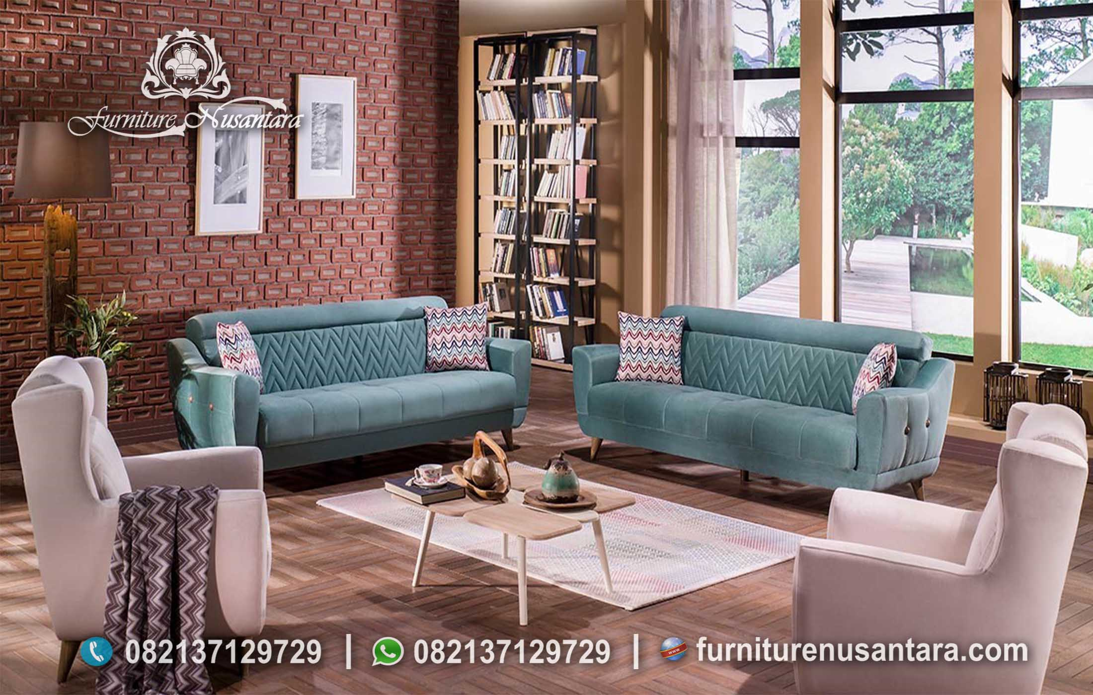 Jual Sofa Minimalis Murah Elegan ST-36, Furniture Nusantara