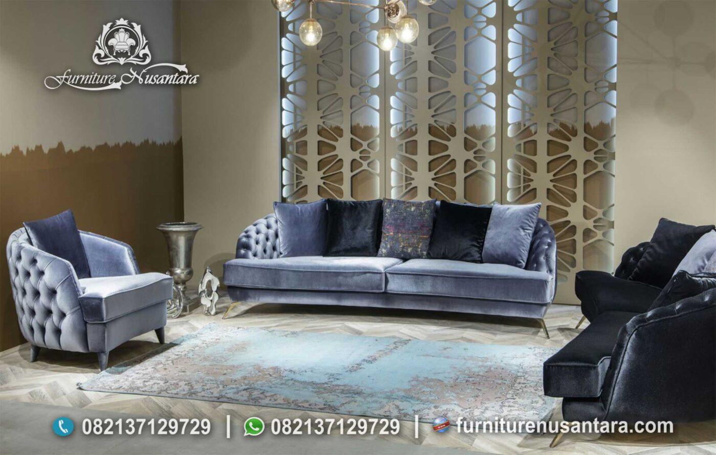 Sofa Minimalis Ruang Tamu ST-46, Furniture Nusantara