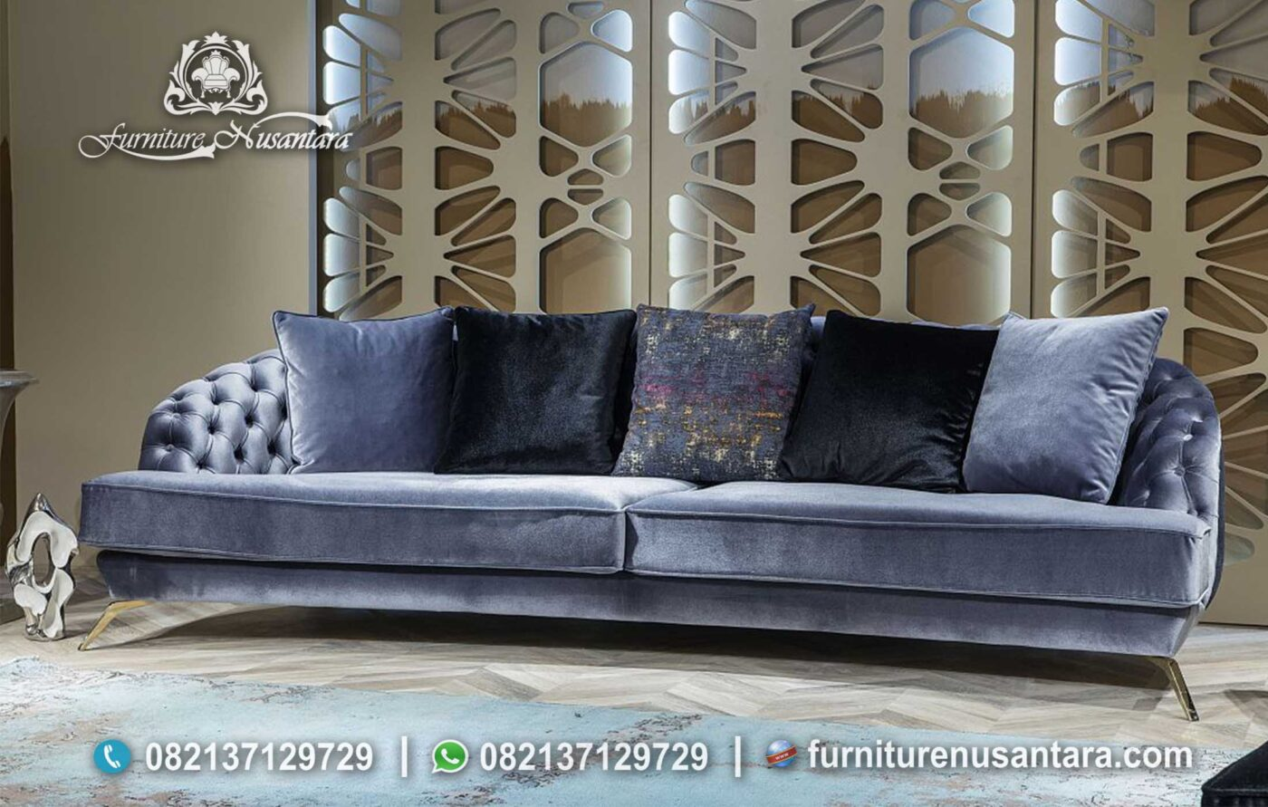Sofa Minimalis Bergaya Korea ST-65, Furniture Nusantara