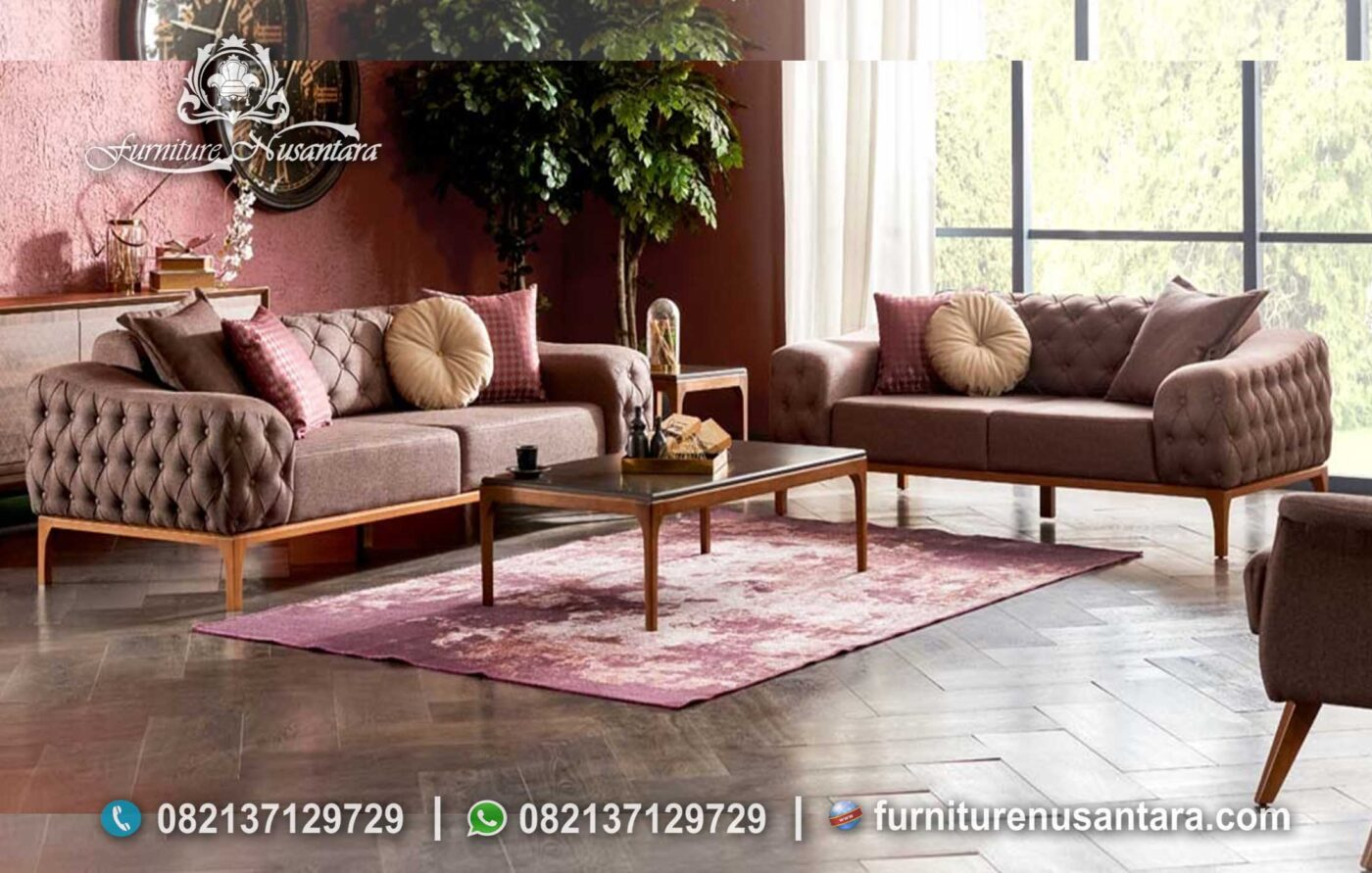 Set Sofa Minimalis Elegan ST-51, Furniture Nusantara