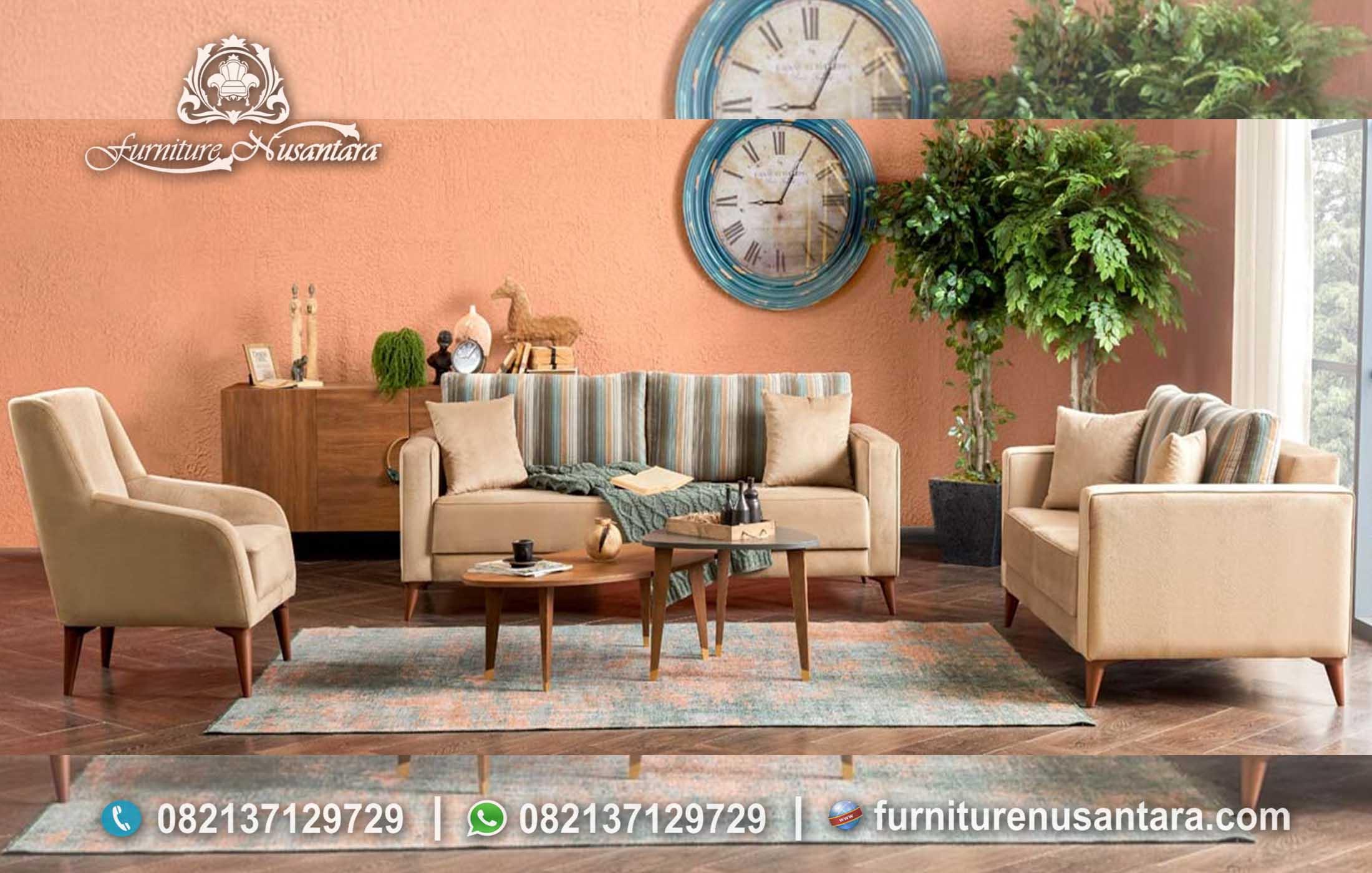 Desain Kursi Sofa Minimalis Modern Kekinian ST-60, Furniture Nusantara