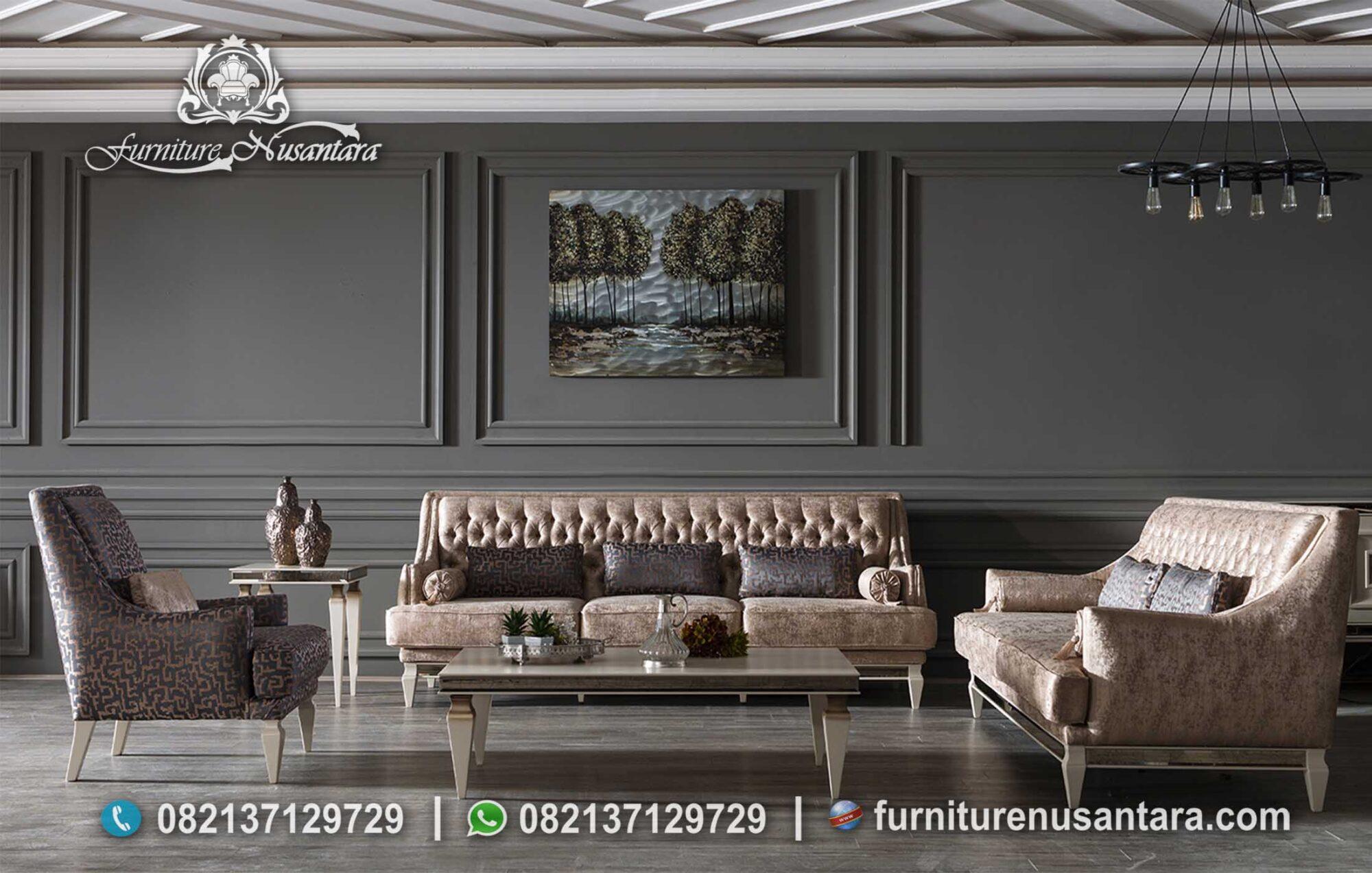Contoh Sofa Tamu Minimalis Sederhana ST-61, Furniture Nusantara