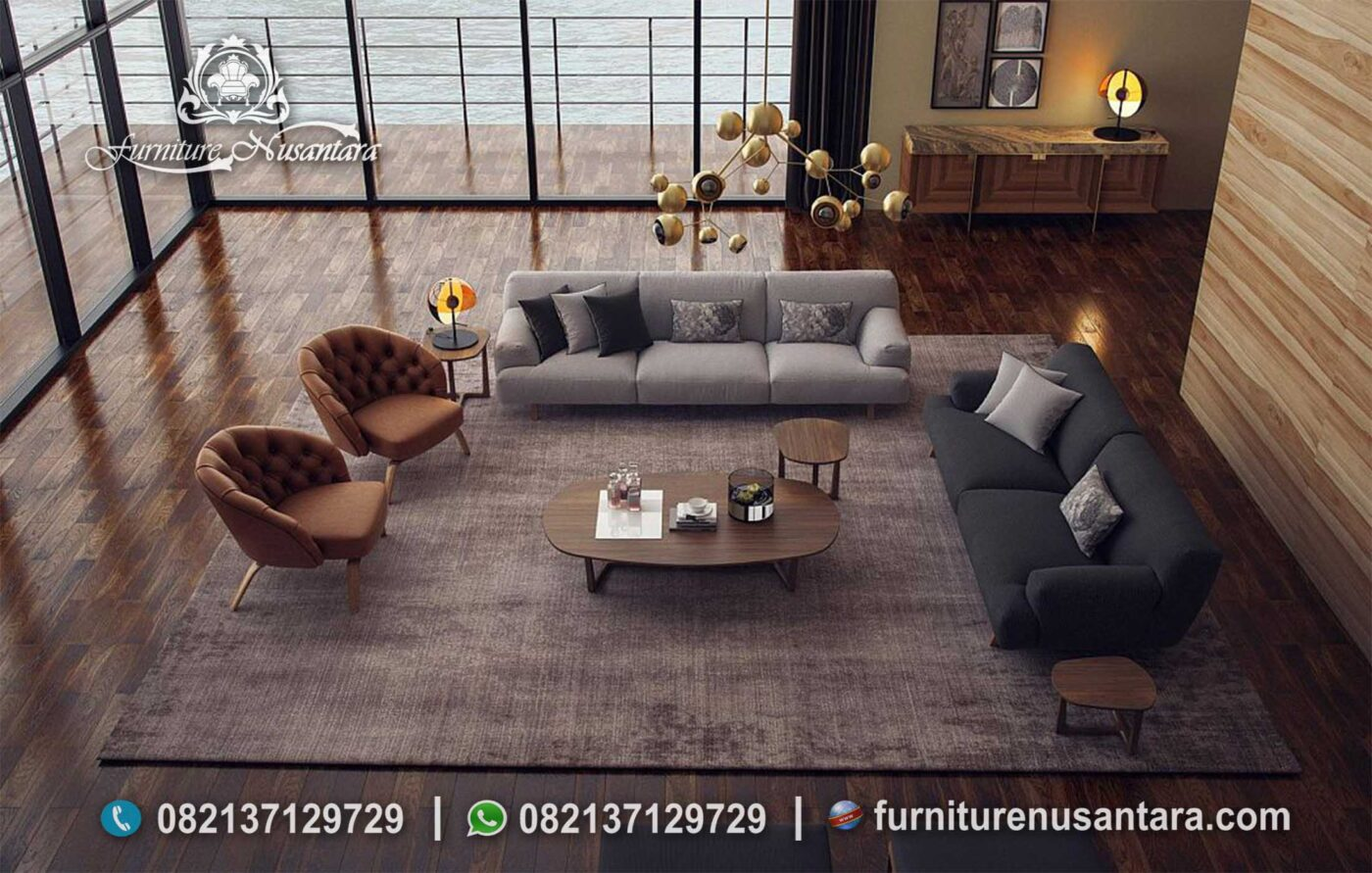 New Model Sofa Ruang Keluarga ST-78, Furniture Nusantara