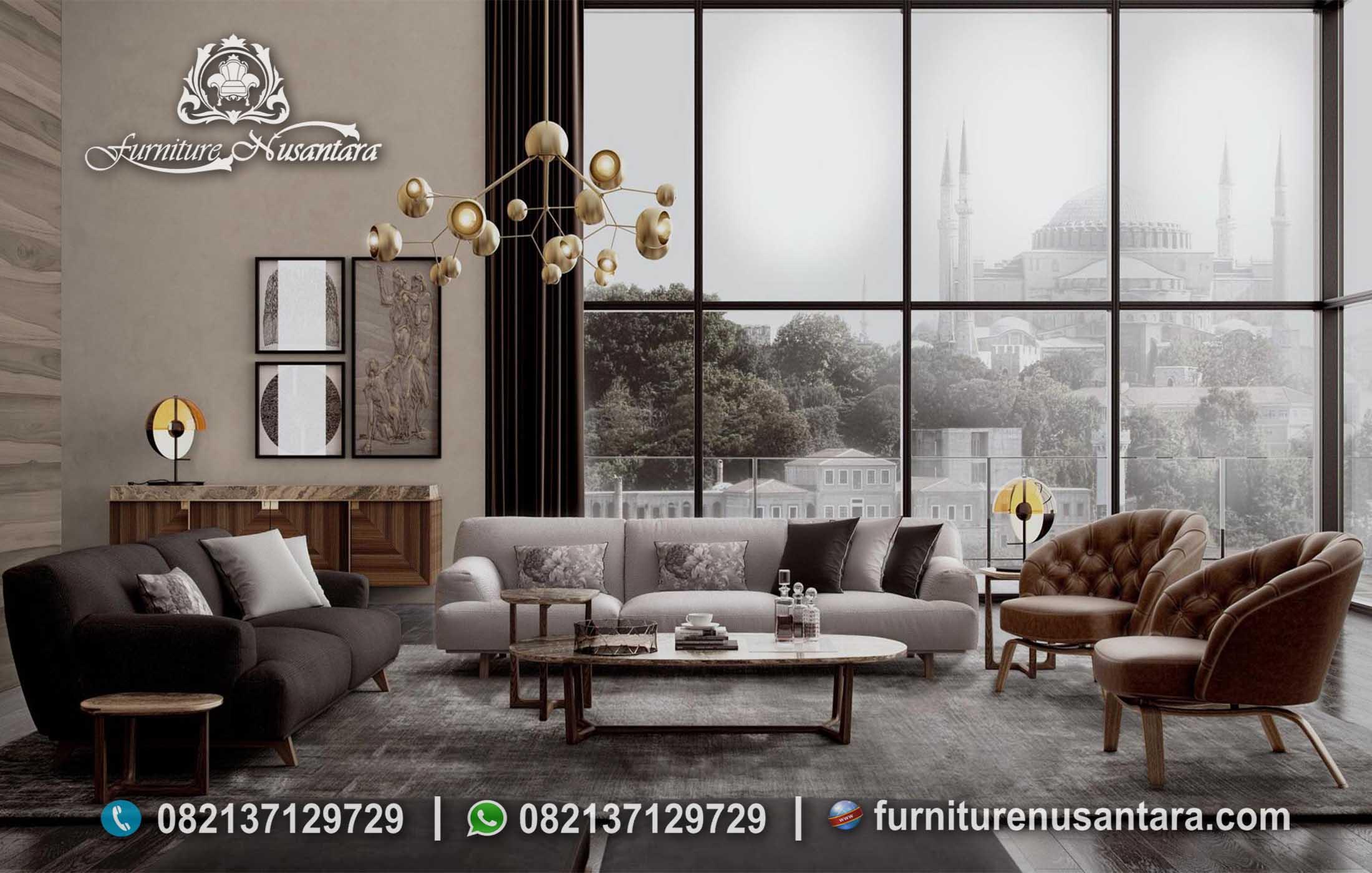 Jual Sofa Bed Minimalis Terbaru ST-73, Furniture Nusantara