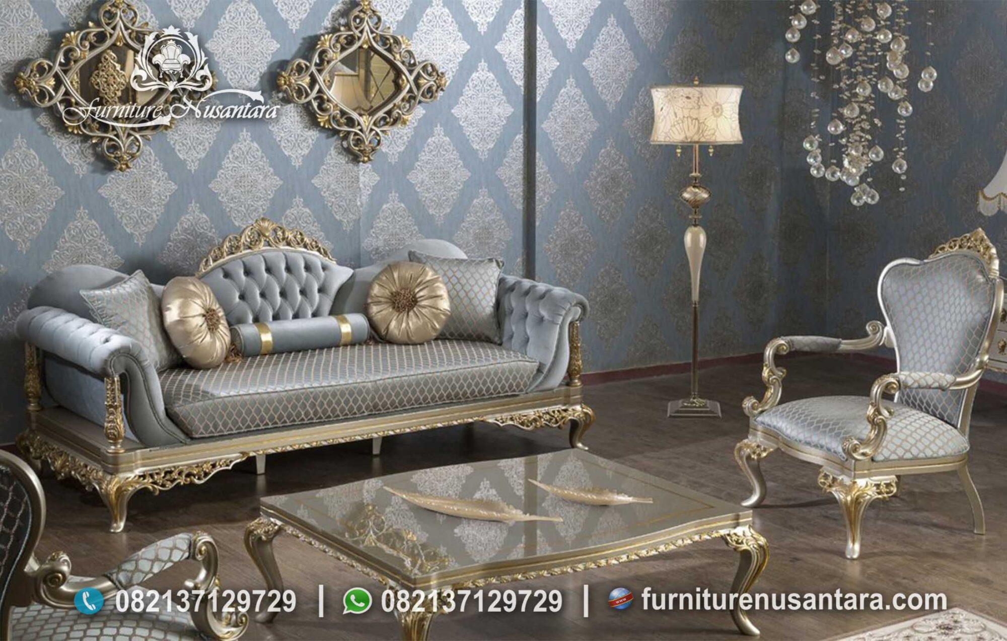 Jual Sofa Tamu Mewah Arabian ST-68, Furniture Nusantara
