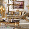 Sofa Luxury Warna Goald Termewah ST-71, Furniture Nusantara