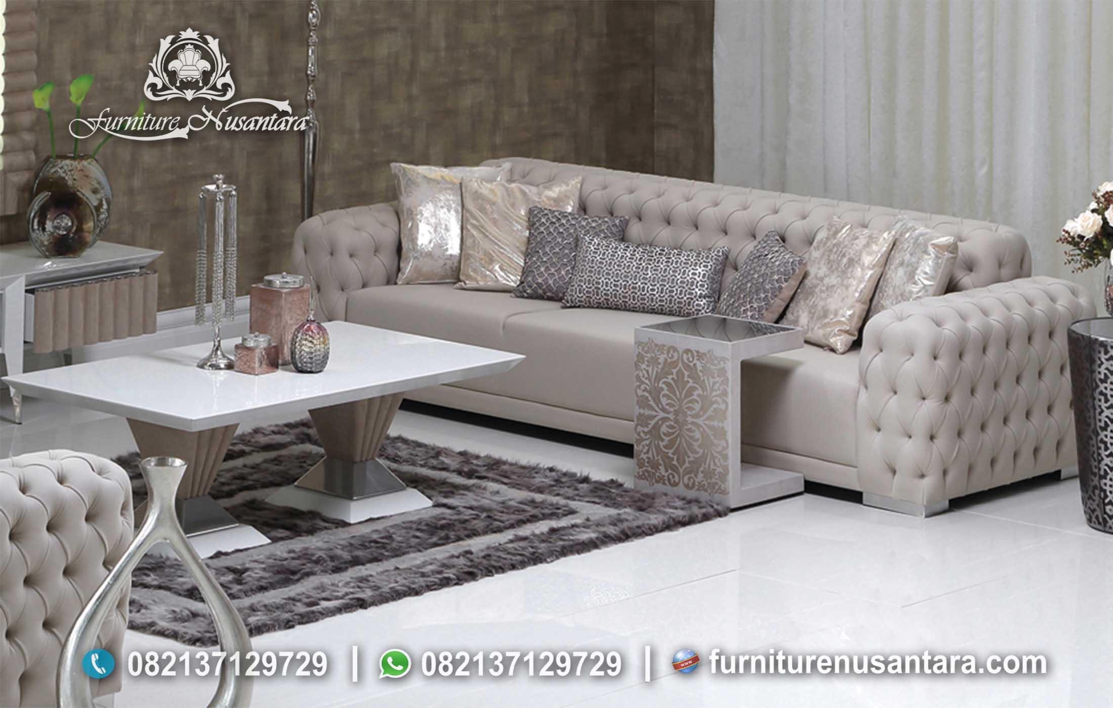 Jual Sofa Bed Ruang Keluarga St 75 Furniture Nusantara Harga sofa ruang keluarga