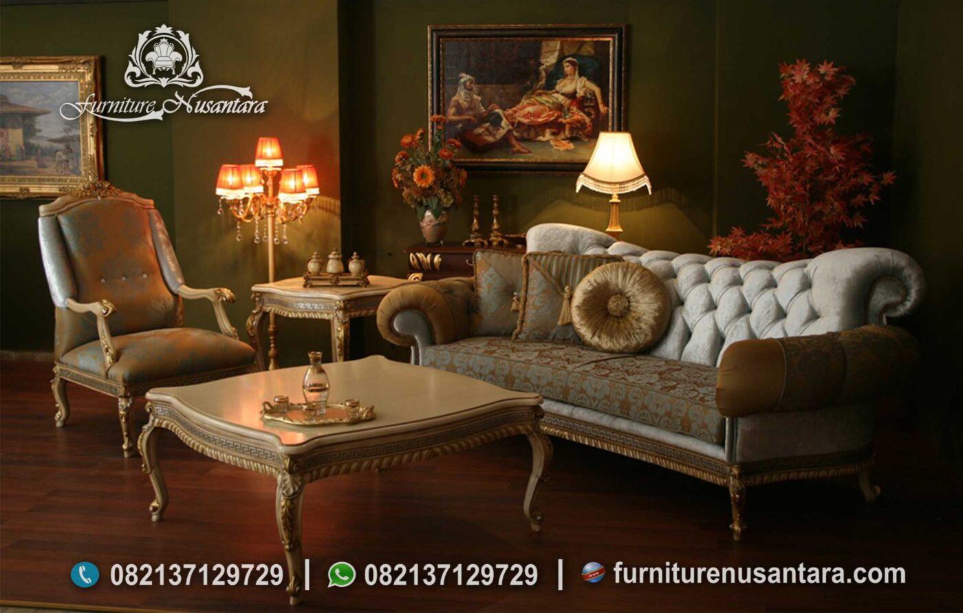 Sofa Elegan Ruang Keluarga Terbaik ST-77, Furniture Nusantara