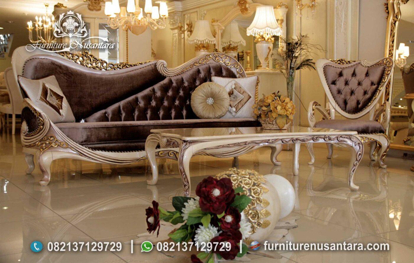 Jual Sofa Santai Ukir Jepara ST-76, Furniture Nusantara
