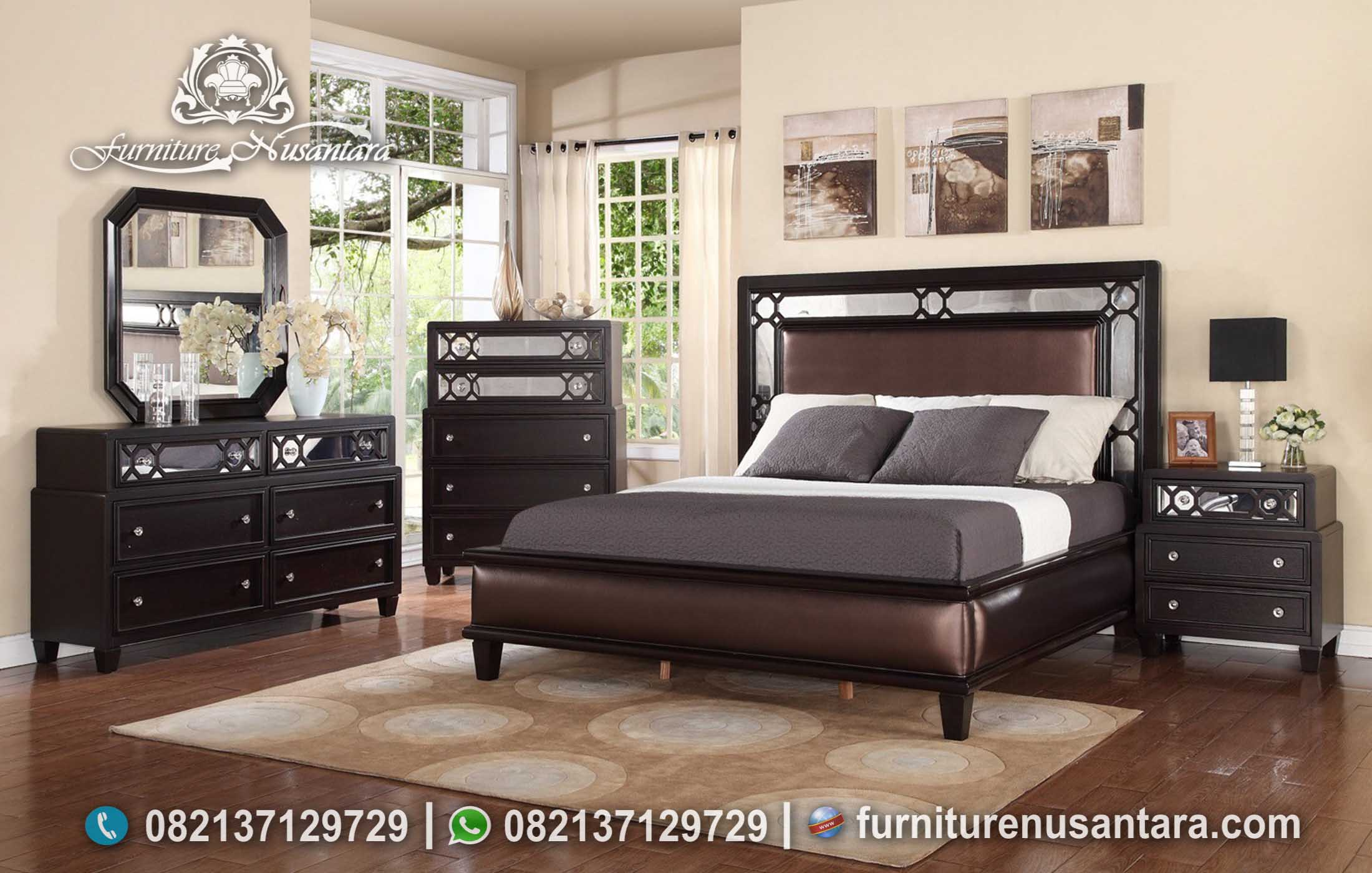 Desain Terbaru Kamar Set Minimalis Modern Casual KS-224, Furniture Nusantara