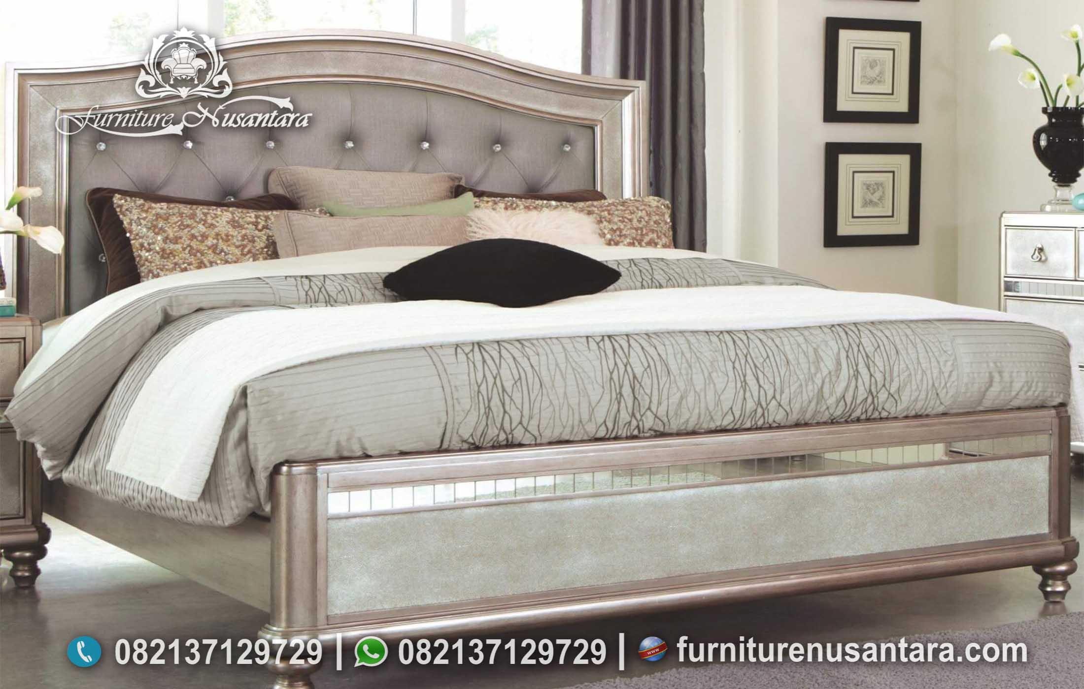 Jual Tempat Tidur Minimalis Simple Nyaman KS-230, Furniture Nusantara