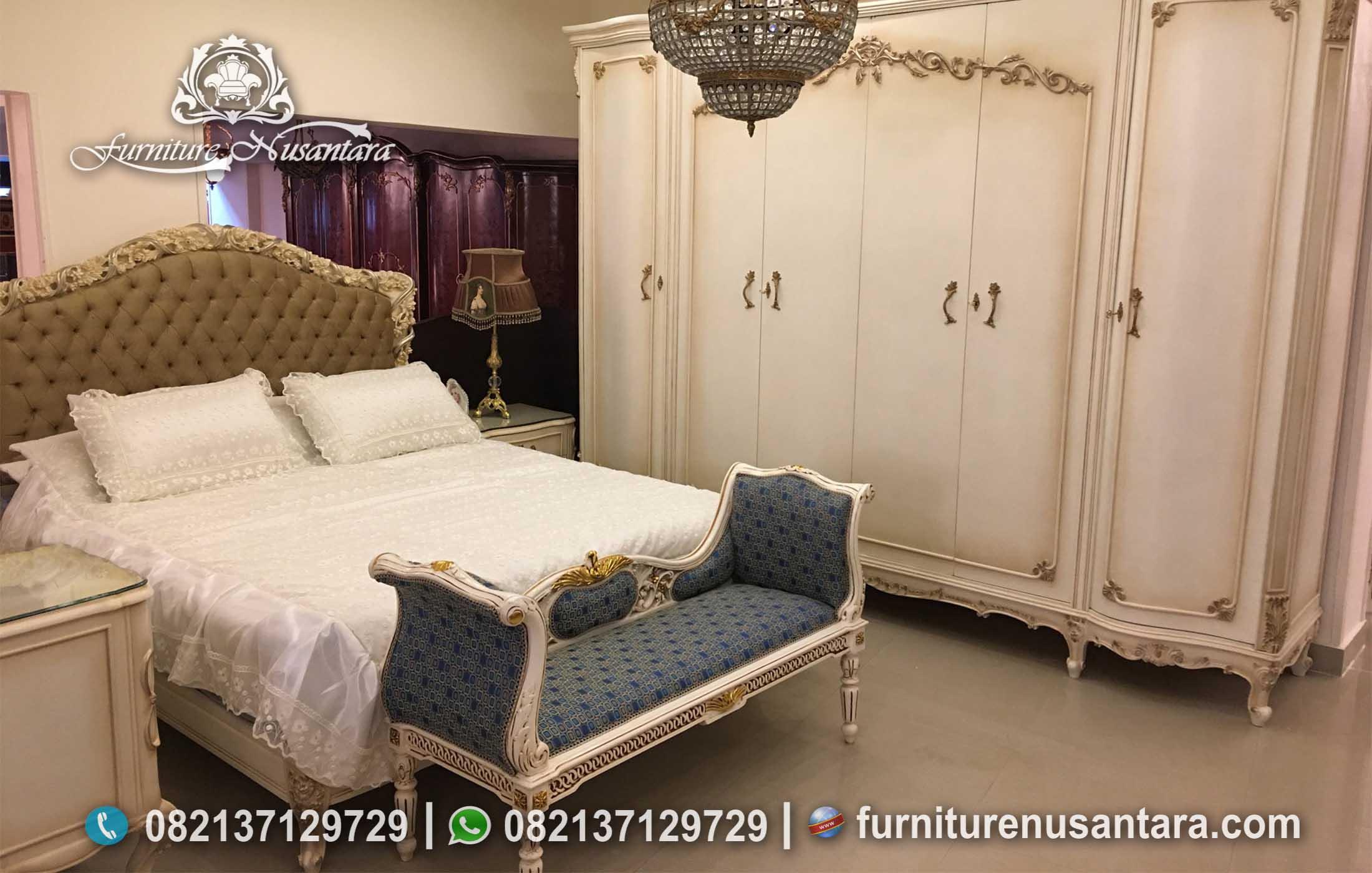 Jual Set Kamar Tidur Klasik Simple KS-231, Furniture Nusantara