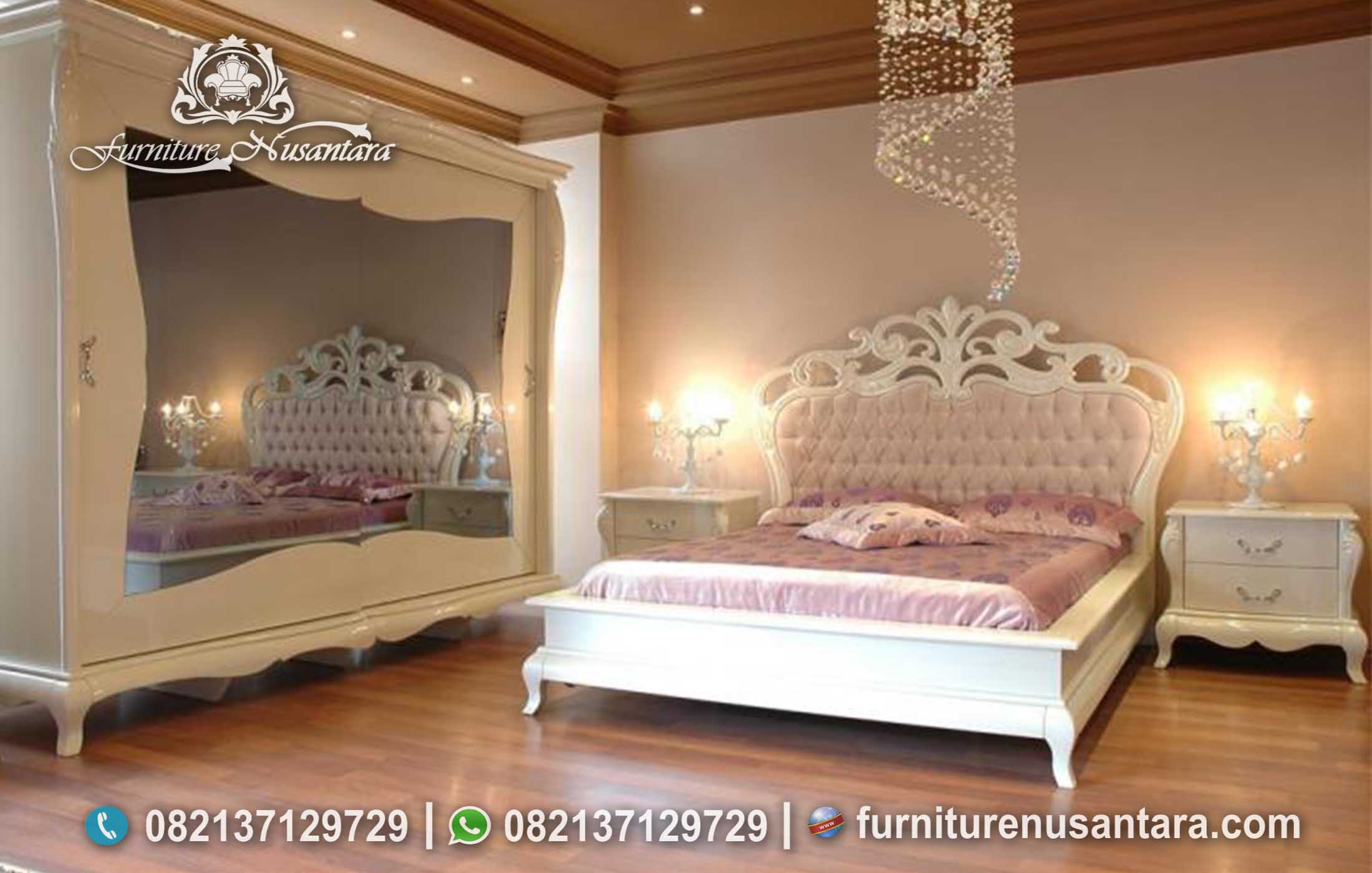 Kamar Set Klasik Modern Feminim KS-232, Furniture Nusantara
