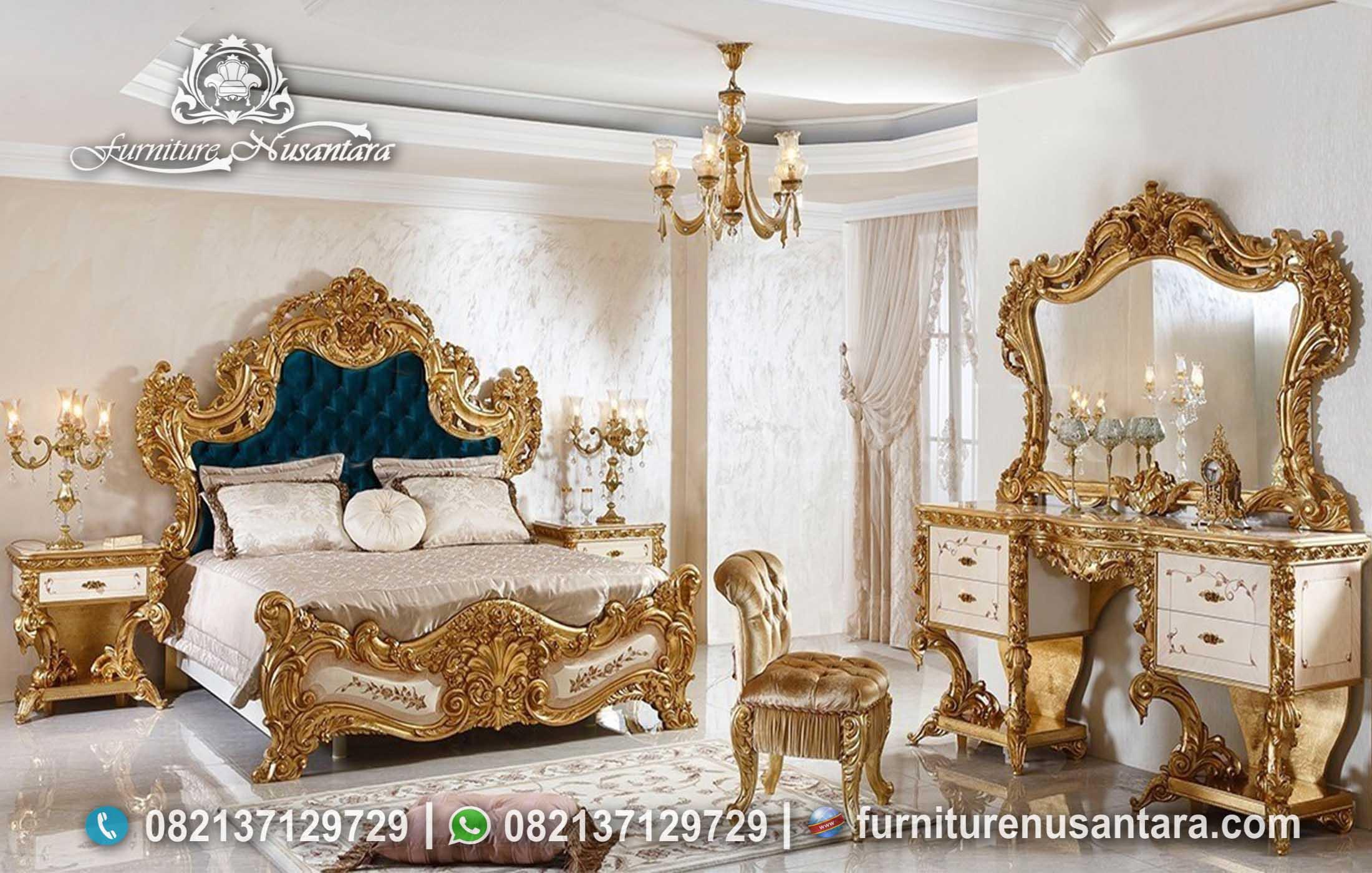 Jual Kamar Set Klasik Full Ukir KS-234, Furniture Nusantara