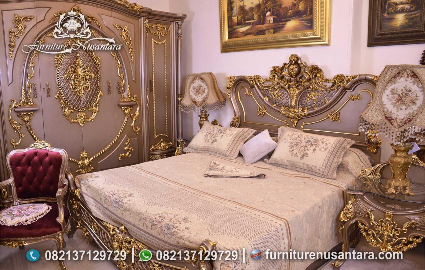 Kamar Tidur Klasik Mewah Pengantin KS-235, Furniture Nusantara