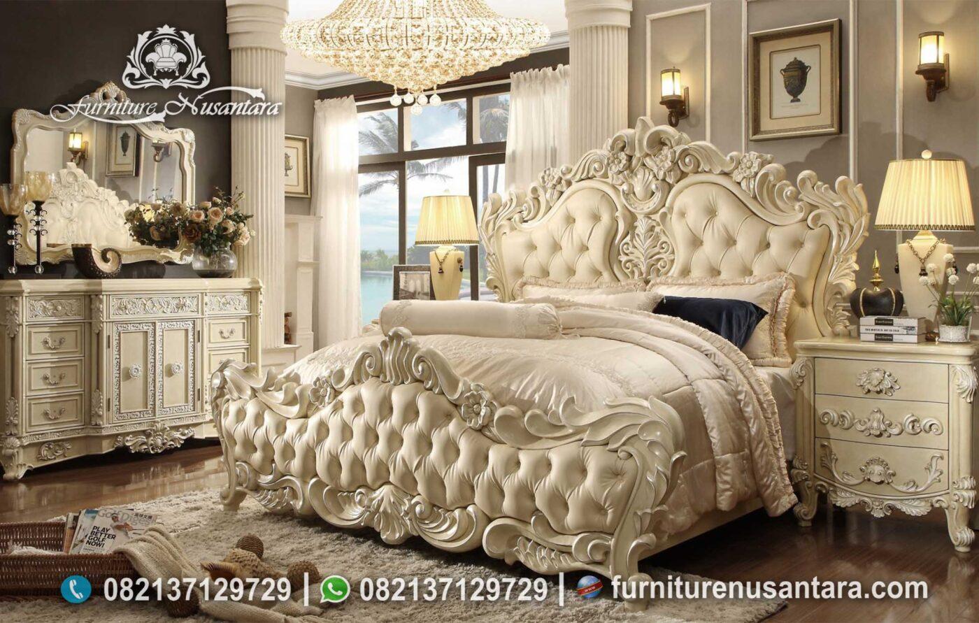 Kamar Set Klasik Eropa Elegan Mewah KS-236, Furniture Nusantara
