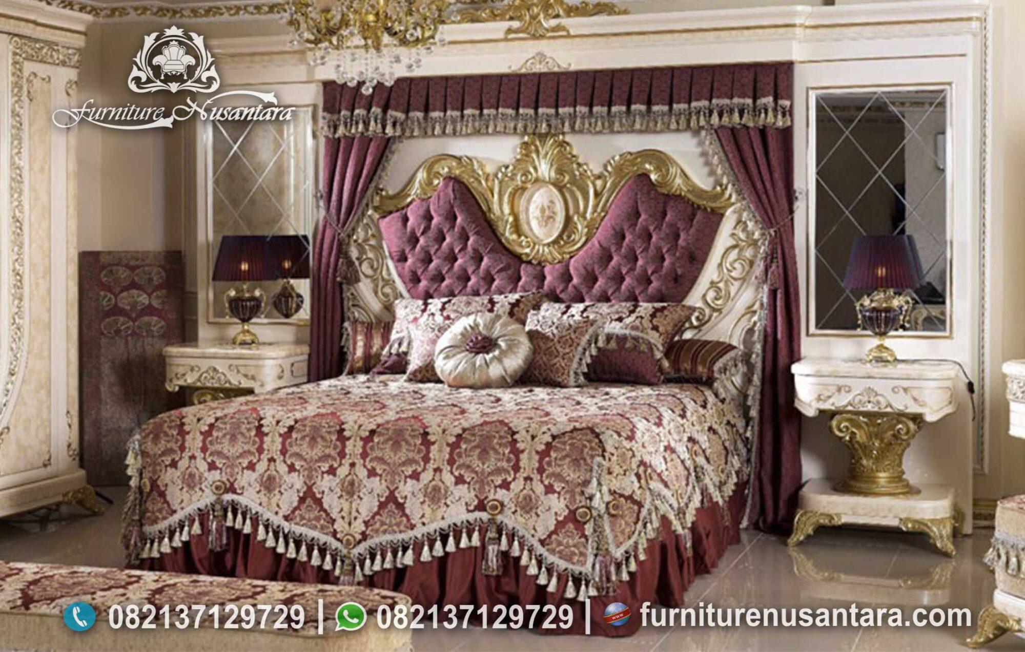 Kamar Set Klasik Luxury Mewah Terbaik KS-238, Furniture Nusantara