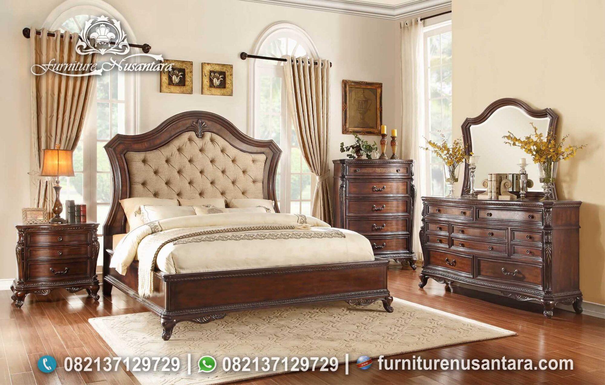 Set Kamar Minimalis Kayu Jati KS-241, Furniture Nusantara