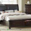 Jual Tempat Tidur Minimalis Laci Simple KS-243, Furniture Nusantara