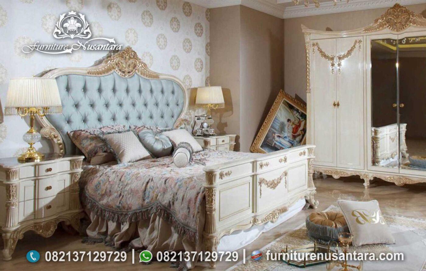 Kamar Klasik Elegan Ukiran Simple KS-247, Furniture Nusantara