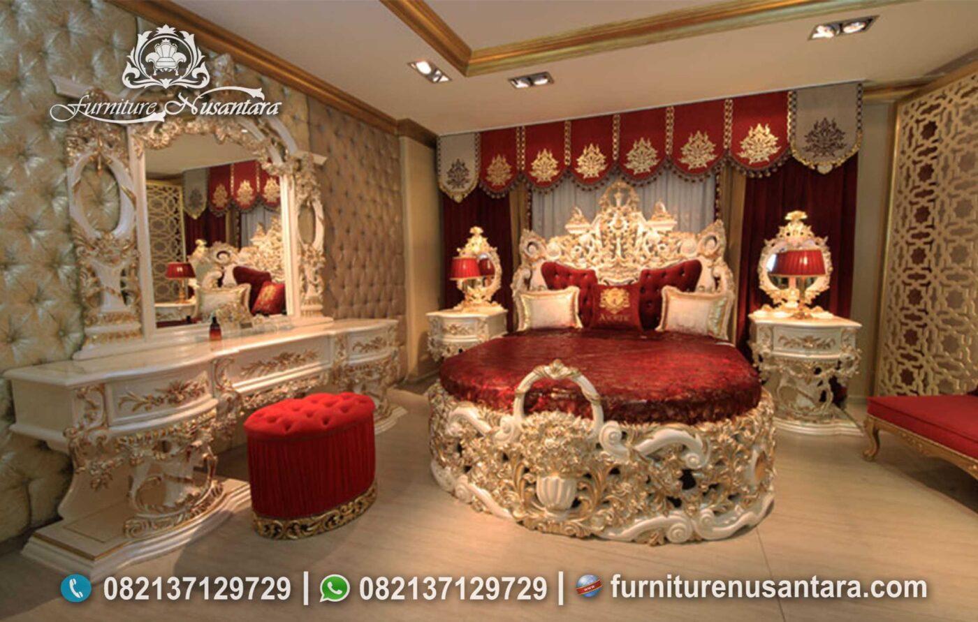 Desain Kamar Klasik Raja Termewah Terbaik KS-249, Furniture Nusantara