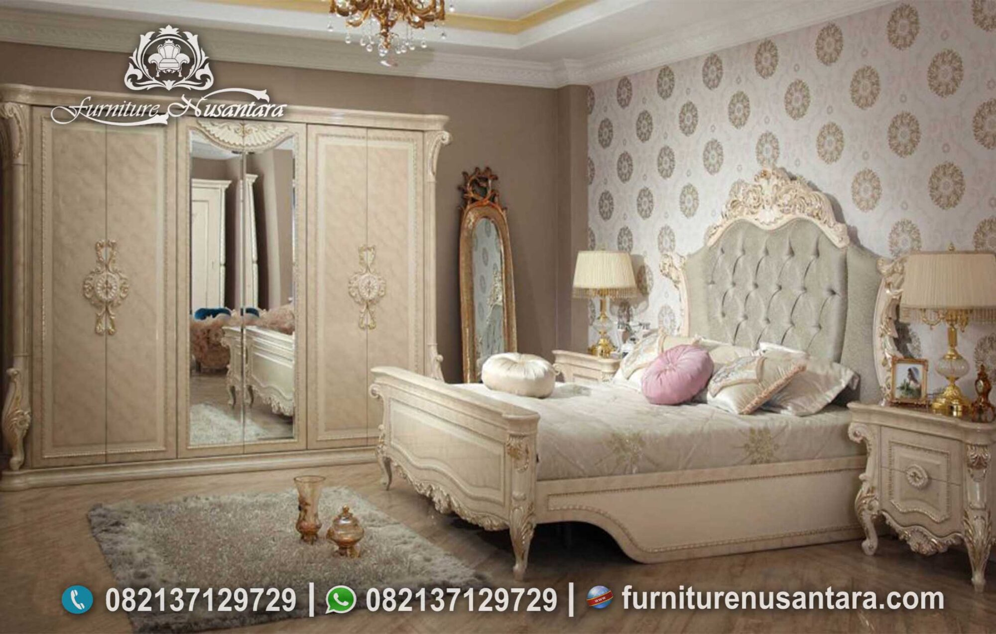 Desain Kamar Tidur Modern Elegan KS-254, Furniture Nusantara