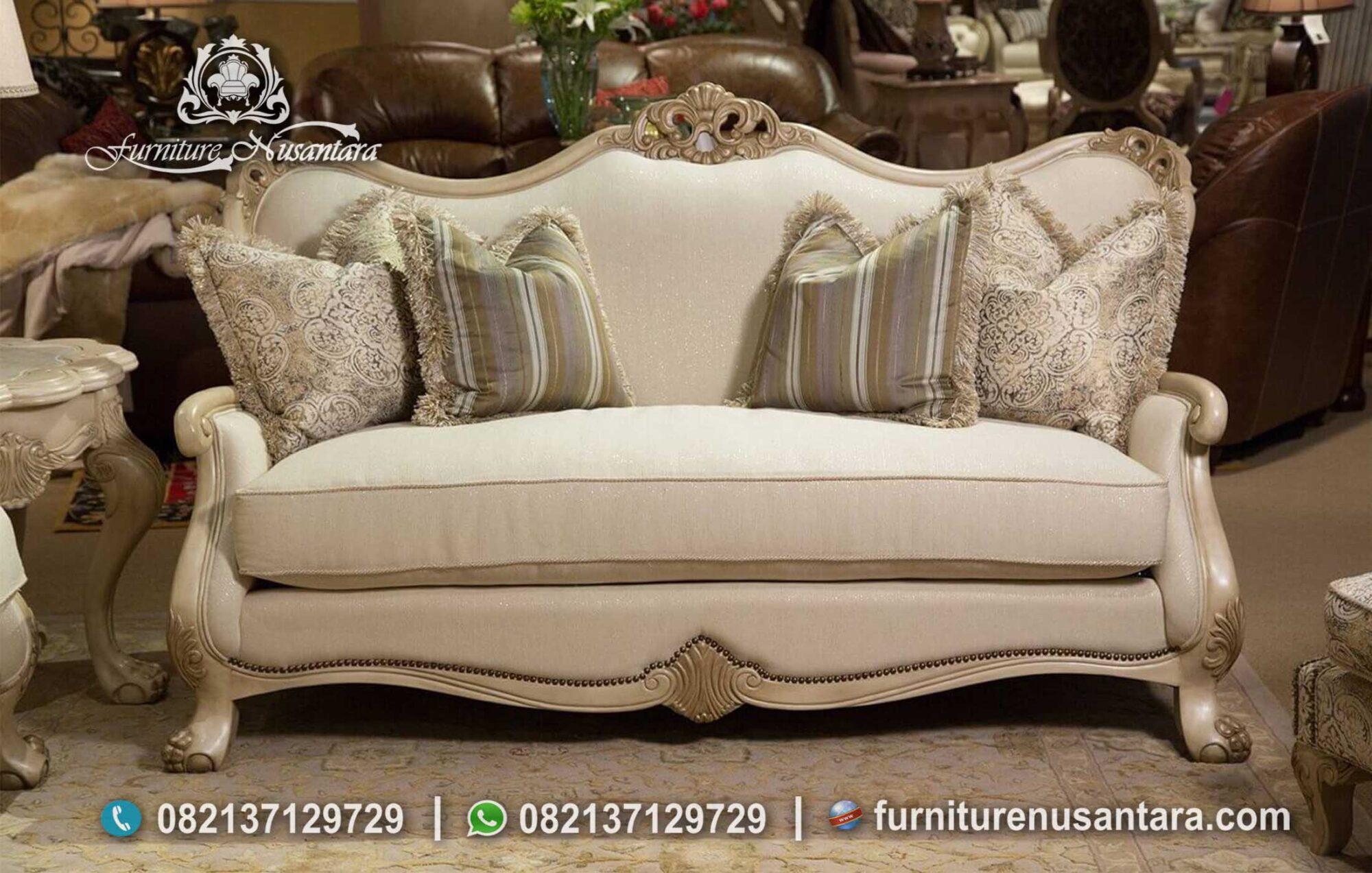 Sofa Semi Klasik Harga Murah ST-86, Furniture Nusantara