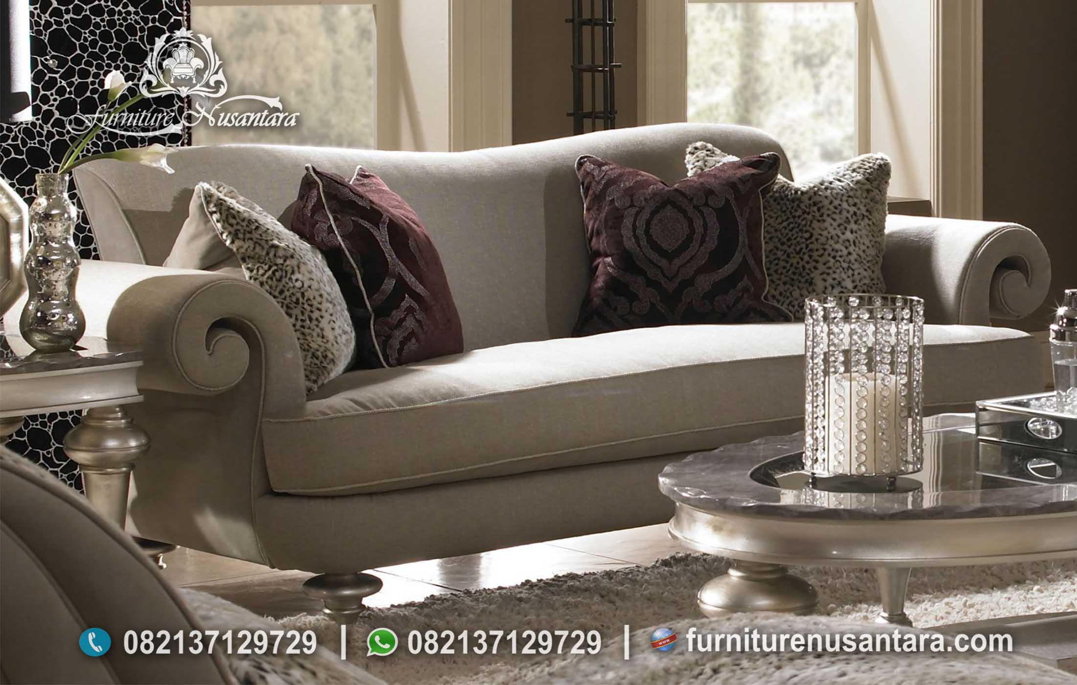 Set Sofa Tamu Minimalis Eropa ST-88, Furniture Nusantara