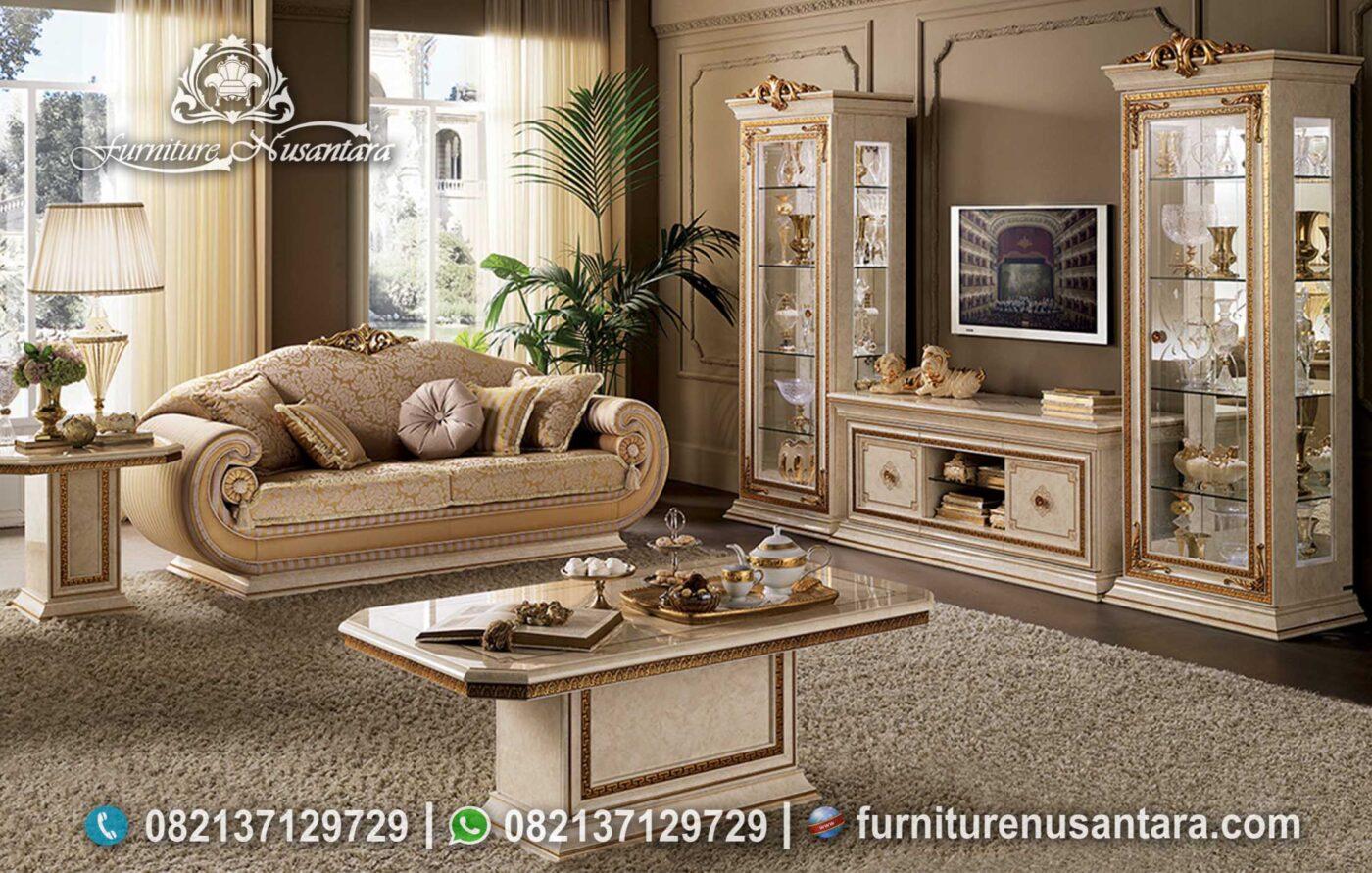 Sofa Tamu Luxury Mewah Terbaru ST-89, Furniture Nusantara