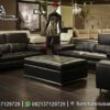 Sofa Minimalis Italian Leather Modern ST-92, Furniture Nusantara