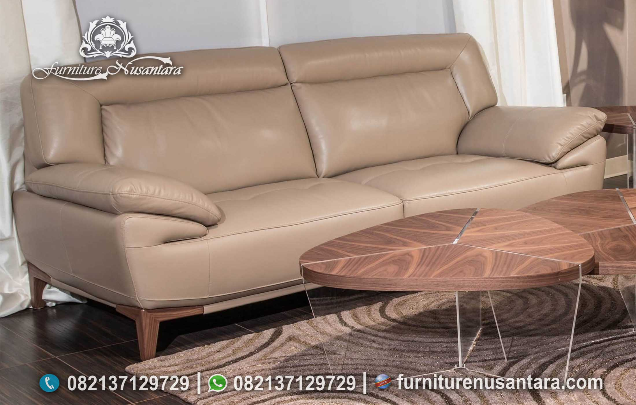 Sofa Bed 2 Dudukan Nyaman ST-95, Furniture Nusantara