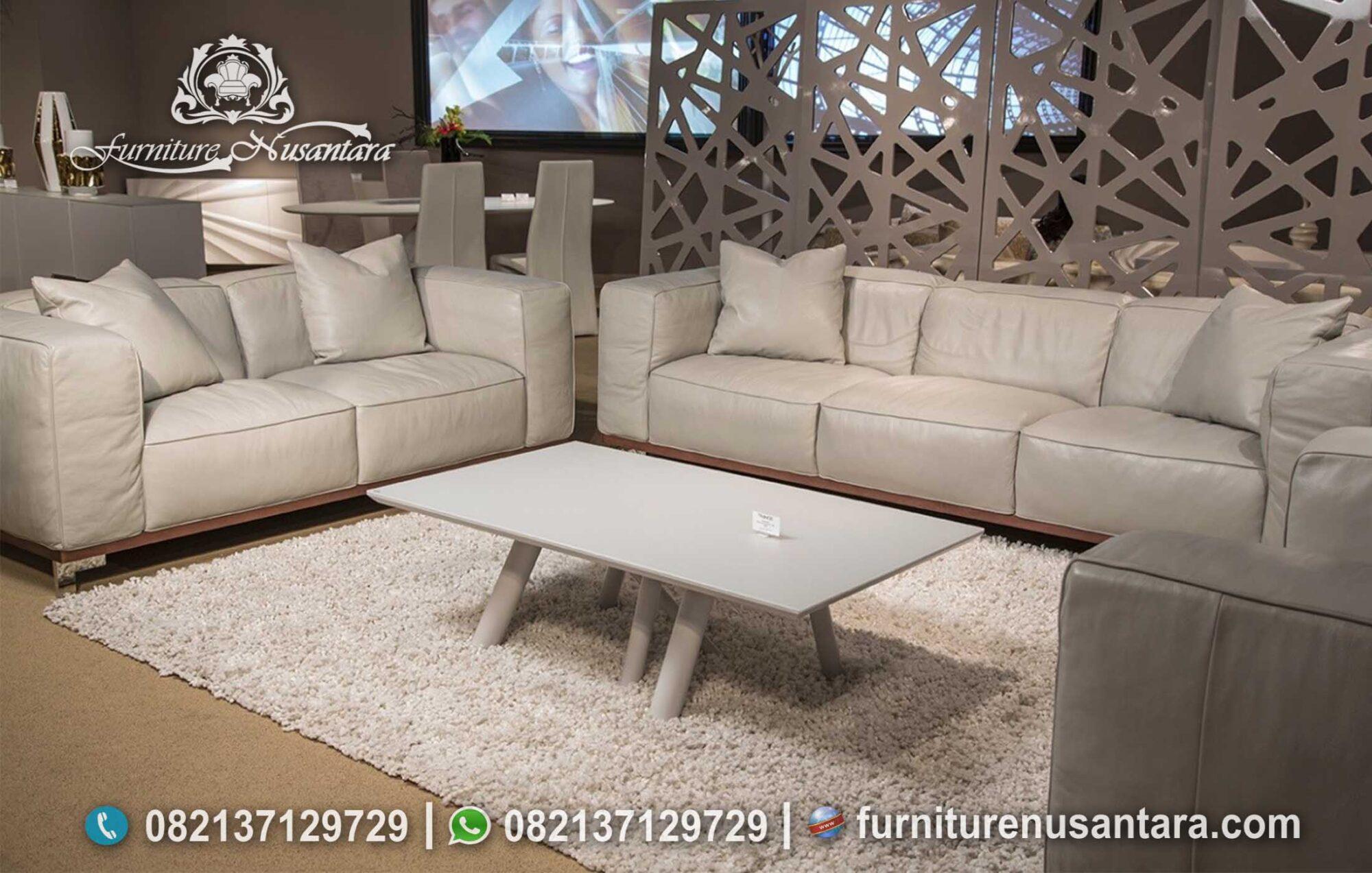 Sofa Minimalis Modern Murah Dan Nyaman ST-100, Furniture Nusantara