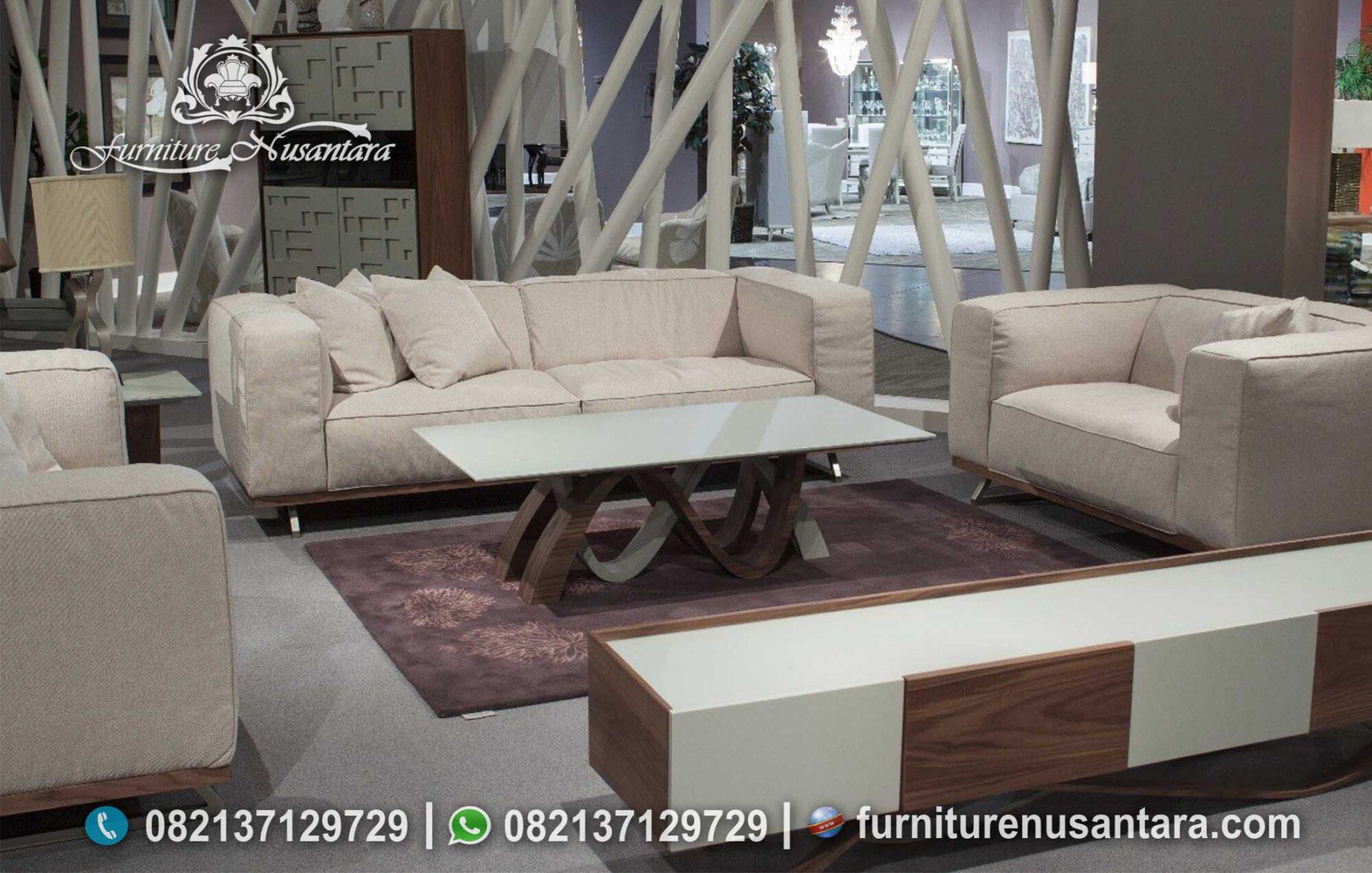 Sofa Tamu Minimalis Warna Soft ST-101, Furniture Nusantara